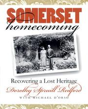 Cover of: Somerset Homecoming: Recovering a Lost Heritage