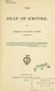 Cover of: The seat of empire