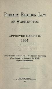 Laws, etc by Washington (State)