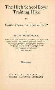 Cover of: The high school boys' canoe club, or Dick & Co.'s rivals on Pleasant Lake