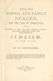 Cover of: English school and family reader, for the use of Israelites