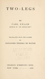Cover of: Two-Legs