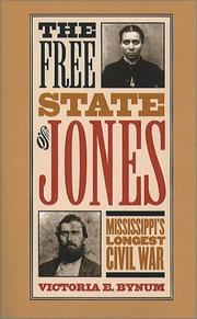 Cover of: The Free State of Jones | Victoria E. Bynum