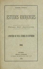 Cover of: Estudos eborenses