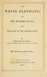 Cover of: The white elephant, or, The hunters of Ava and the king of the golden foot