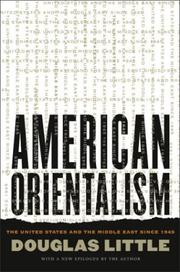 Cover of: American orientalism | Little, Douglas