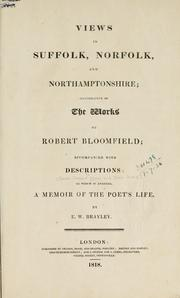 Cover of: Views in Suffolk, Norfolk, and Northamptonshire