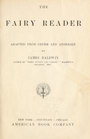 Cover of: The fairy reader