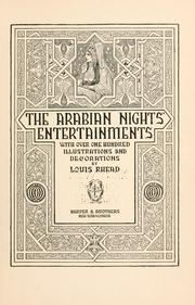 Cover of: The Arabian nights' entertainments |