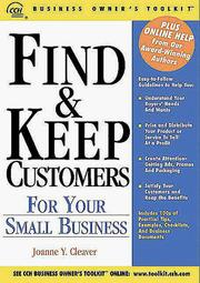 Cover of: Find & keep customers for your small business |