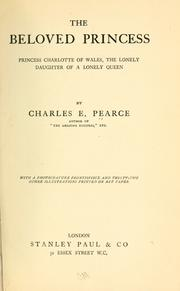 Cover of: The beloved princess by Charles E. Pearce