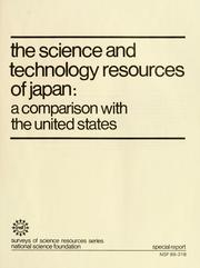 The science and technology resources of Japan by Maria Papadakis