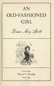 Cover of: An old-fashioned girl
