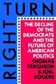 Cover of: Right Turn by Thomas Ferguson, Joel Rogers