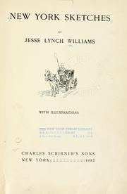 Cover of: New York sketches