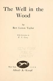 Cover of: The well in the wood