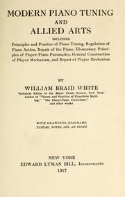 Cover of: Modern piano tuning and allied arts