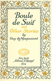 Cover of: The collected novels and stories of Guy de Maupassant