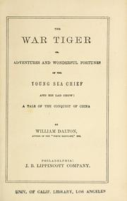 Cover of: The war tiger