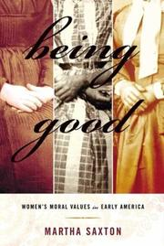 Cover of: Being Good