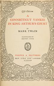 Cover of: A Connecticut Yankee in King Arthur's court | Mark Twain