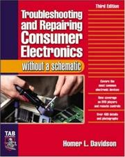 Troubleshooting & Repairing Consumer Electronics Without a Stroubleshooting & Repairing Consumer Electronics Without a Schematic Chematic
