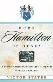 Cover of: Duke Hamilton is dead!