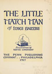 Cover of: The little match man