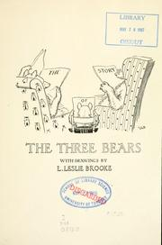 Cover of: The story of the three bears