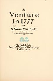 Cover of: A venture in 1777