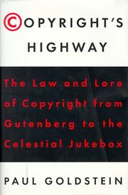Cover of: Copyright's highway