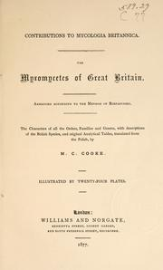 Cover of: The Myxomycetes of Great Britain arranged according to the method of Rostafinski ..