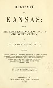 Cover of: History of Kansas