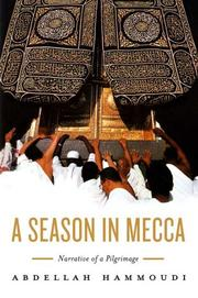 Cover of: My pilgrimage to Mecca by Abdellah Hammoudi