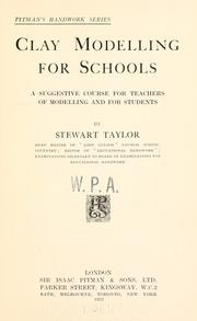 Cover of: Clay modelling for schools