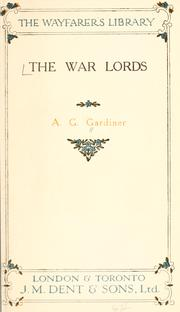 Cover of: The war lords
