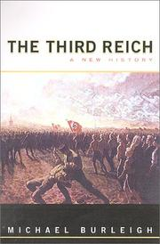 Cover of: The Third Reich: A New History