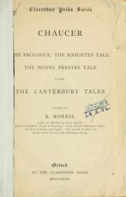 The Prologue, the Knightes tale, the Nonne prestes tale from the Canterbury tales.