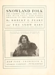 Cover of: Snowland folk