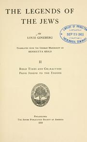 Cover of: The legends of the Jews, by Louis Ginzberg by Louis Ginzberg