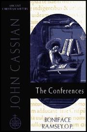 Cover of: John Cassian, The conferences