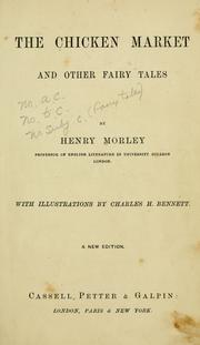 Cover of: The chicken market and other fairy tales