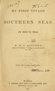 Cover of: My first voyage to southern seas