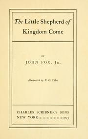 The little shepherd of Kingdom Come by Fox, John