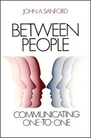 Cover of: Between People | John A. Sanford
