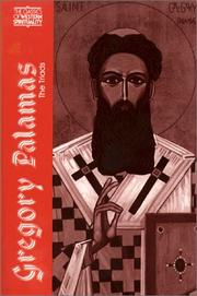 The triads:book one by Gregory Palamas Saint