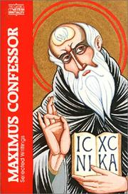 Cover of: Maximus Confessor