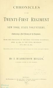 Cover of: Chronicles of the Twenty-first regiment New York state volunteers