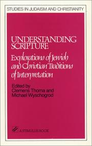 Cover of: Understanding scripture |