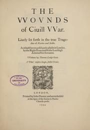 Cover of: The wounds of civil war